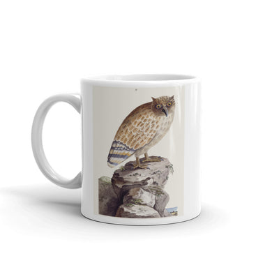 The Great Ceylonese Eared Owl Mug Vintage Tea Coffee Mugs #Owl