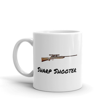Sharp Shooter Air Rifle Gun Mug Tea Coffee Mugs #AirRifle