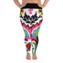 Womens Retro All-Over Print Plus Size Leggings #PlusSize