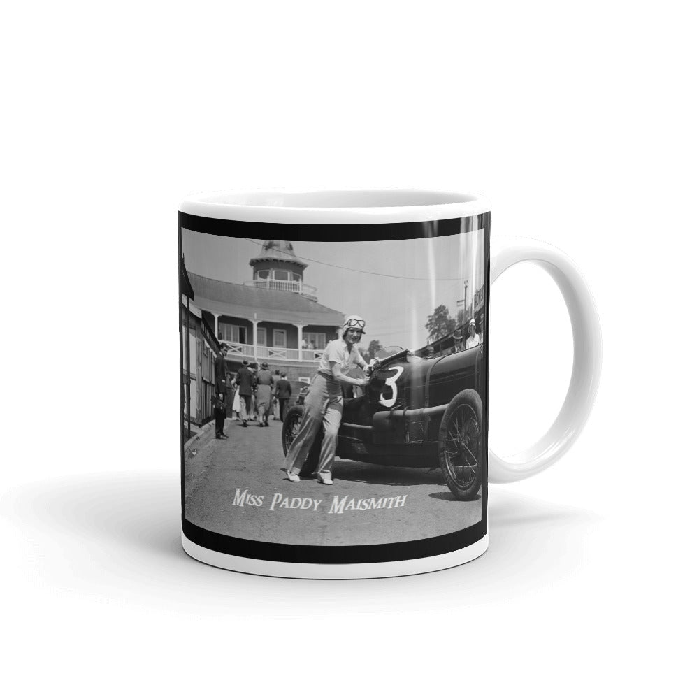 Miss Paddy Maismith Mug Vintage Womens Rally Car Mugs #WomensRally