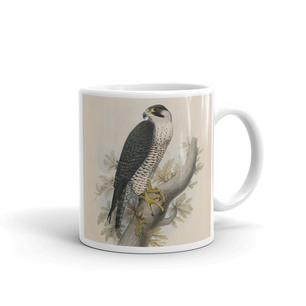 Goshawk Mug Vintage  Hawk Art Illustration Tea Coffee Mugs #Goshwak