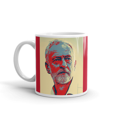 Jeremy Corbyn Mug Labour Party Red Coffee Mugs #JeremyCorbyn