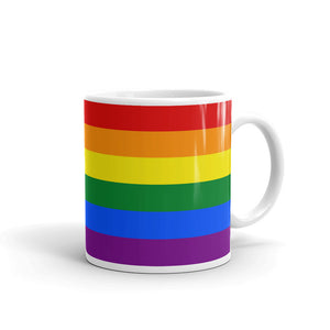 LGBT Gay Pride Flag Mug Tea Coffee Mugs #GayPride