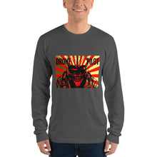 Mens Drone Pilot Anime Long sleeve t-shirt #Drones