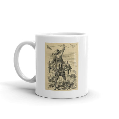 Falconer Mug Vintage Hunting  illustration tea Coffee Mugs #Falconry