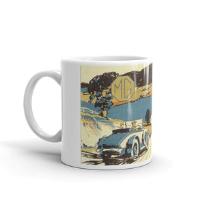 Mg Mug Vintage Classic Car Advertising Tea Coffee Mugs #MG