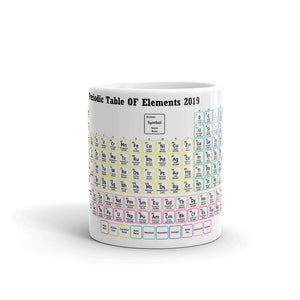 2019 Periodic Table of the Elements Mug #Science