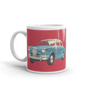 Riley One Point Five Car Mug Vintage Classic Rally Road Car Mugs #ClassicCar