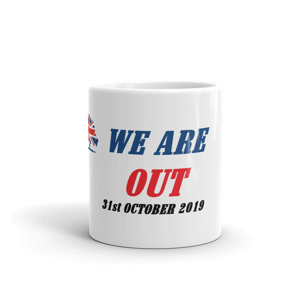 WE ARE OUT Mug Brexit Coffee Mug #Brexit #WeAreOut