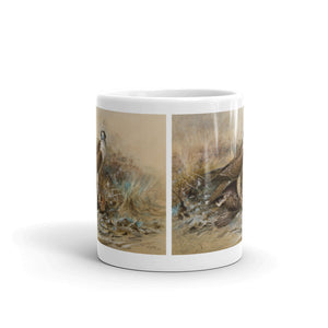 Peregrine Falcon Mug Vintage Illustration Tea Coffee Mugs #Peregrine