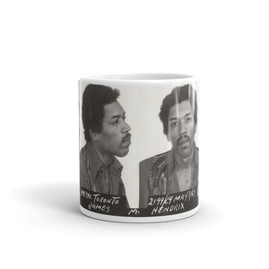Jimi Hendrix Mug Shot Mug Tea Coffee Mugs #Mugshot