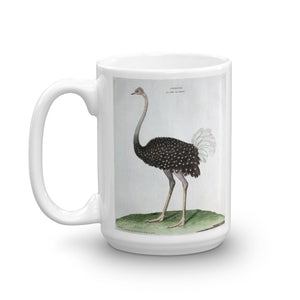 Ostrich Bird Mug Vintage Birds Illustration Tea Coffee Mugs Gift #Ostrich