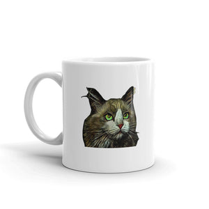 Maine Coon Green Eyes Cat Mug Coffee Mugs Tea Cup Gifts  #MaineCoon