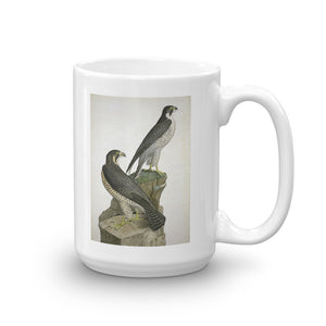 Peregrine Falcon Mug Breeding Pair Tea Coffee Mugs Gift #Peregrine