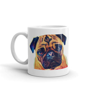 Pug Mug Tea Coffee Mugs Gift #Pug