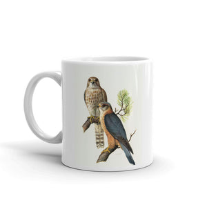 Merlin Falcon Mug Vintage Falcon Art Illustration Tea Coffee Mugs #Merlin