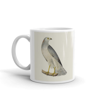 Hen Harrier Mug Blue Hawk Vintage Illustration Coffee Mugs #HenHarrier