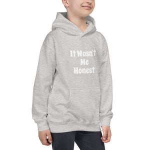 It Wasn't Me Honest Kids Unisex funny Quote Joke Hoodie  Hooded Sweatshirt #Hoodie