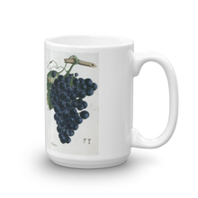 Black Grapes Mug Vintage Fruit illustration Coffee Mugs #Grapes