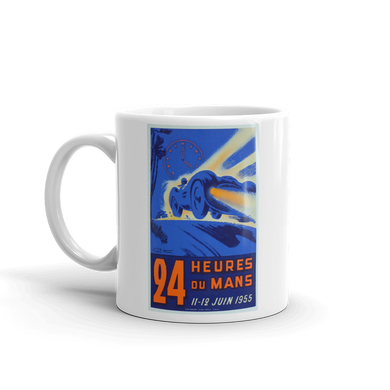1955 Le Mans Mug Vintage Classic Car Rally Tea Coffee Mugs #LeMans