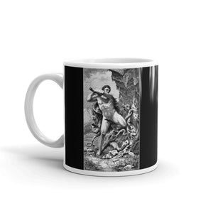 Hercules Mug Slaying the Hydra Tea Coffee Mugs #Hercules