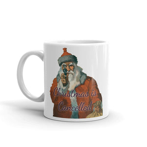 Christmas is Cancelled Santa Joke Funny Mug #Christmas