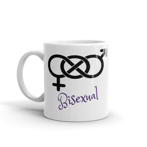 Bisexual Mug Gender Sex symbol Tea Coffee Mugs #Bisexual