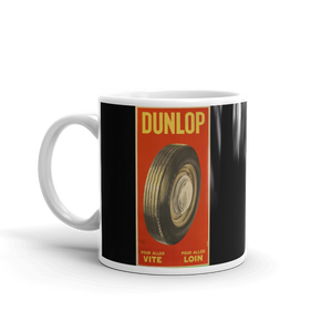 Dunlop Tyres Mug Vintage Classic Car Advert Tea Coffee Mugs #Dunlop