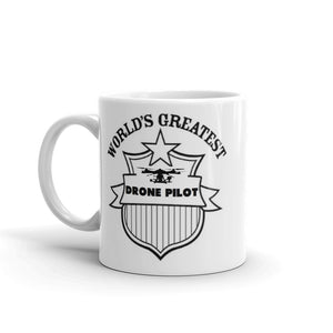 Worlds Greatest Drone Pilot Mug #Drones