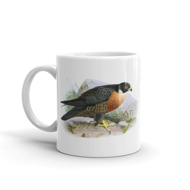 Shaheen Falcon Mug Vintage Falcon Art Illustration Tea Coffee Mugs #Falcon