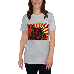 Womens Drone Pilot Japanese Anime Short-Sleeve Unisex T-Shirt #Drones