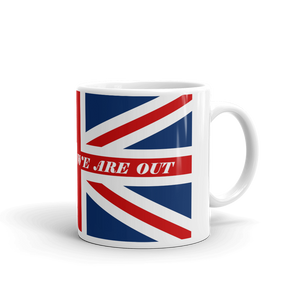 DONT PANIC WE ARE OUT BREXIT UNION JACK FLAG Coffee Mug #Brexit #GetBrexitDone
