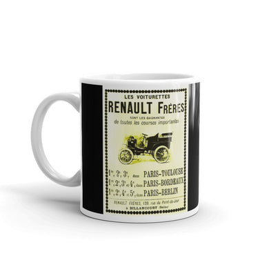 Renault Frères Mug Vintage Advertising Classic Car Tea Coffee Mugs #Renault