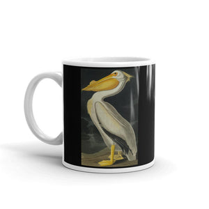 American White Pelican Mug Vintage Illustration Tea Coffee Mugs #Pelican