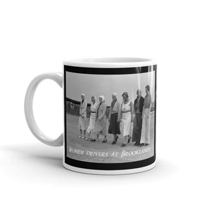 Women Rally drivers at Brooklands Mug Coffee Mugs #WomensRally