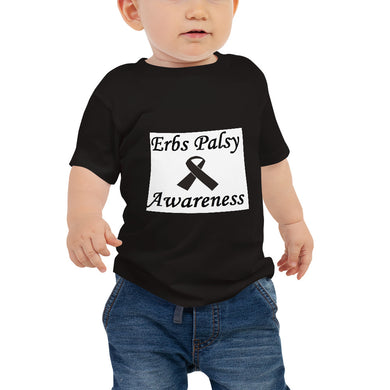 Erbs Palsy Awareness Baby Jersey Short Sleeve Tee #ErbsPalsy
