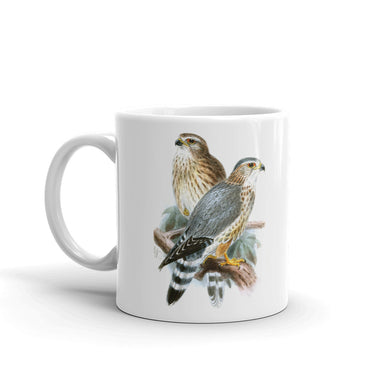 Breeding Pair Falcons Mug Vintage Tea Coffee Mugs #Falcons