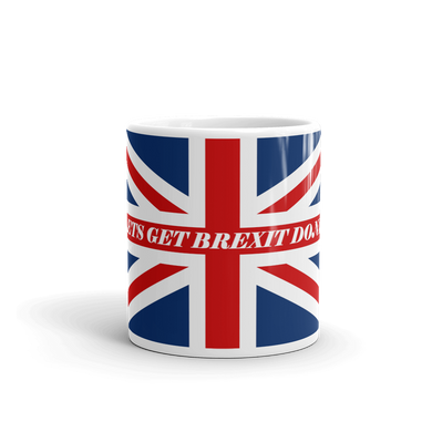 GET BREXIT DONE UNION JACK FLAG Coffee Mug #Brexit #GetBrexitDone