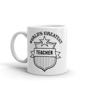 Worlds Greatest Teacher Mug Gift #TeacherGift