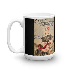Womens Concours Mug D'Elegance Vintage Classic Car Rally Tea Coffee Mugs #WomensRally