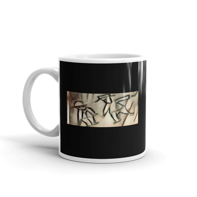 Mr Wu Drawing Deadwood Sketch Pop Art Tea Coffee Mugs #Deadwood
