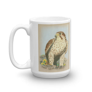 Falcon Mug Vintage Falcon Art Illustration Tea Coffee Mugs #Falcon