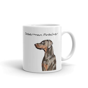 Doberman Pinscher Mug Tea Coffee Mugs Gift #Doberman