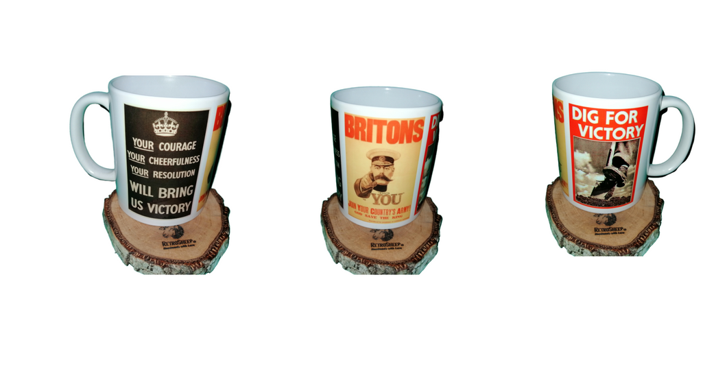 Dig For Victory Coffee Mug  #WW1 #WW2