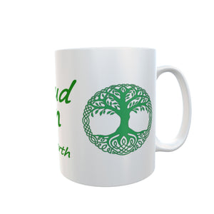 Vegan and Proud Tree of Life Celtic Tea Coffee Mugs Gift #Vegan
