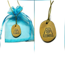 Earth Wind Fire Water Elements Necklace Pendant Wooden Charm Natural Necklace Earrings Keyring Charms #Elements