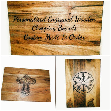 Personalised Chopping Cheese Bread Board #Personalised By Retrosheep.store