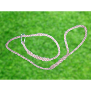 Natural Rope Lead 10 mm Heavy Duty small / medium Dogs