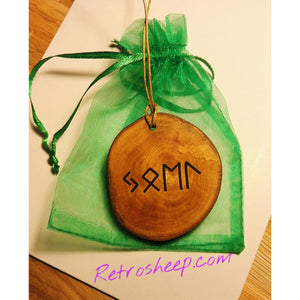 JOEL OR YOUR NAME ENGRAVED IN RUNIC RUNE