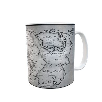 SKYRIM MAP MUG  Tea Coffee Mugs #Skyrim